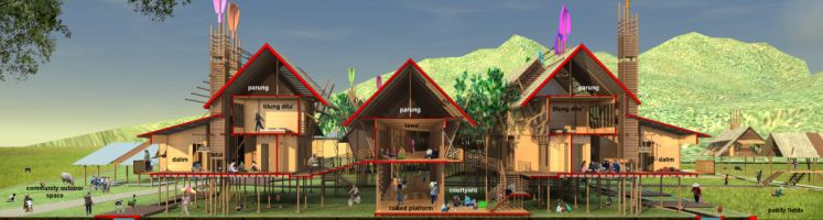 Thesis 2012: Kelabit Village